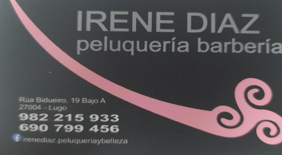 PELUQUERIA BARBERIA  IRENE DÍAZ